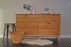 ikea tarva dresser refinished. Room \u0026 Board Inspired Tarva Dresser Makeover Ikea Refinished L
