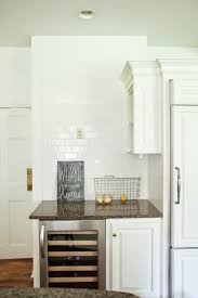 Blank Kitchen Wall From The Natos Yet Another Kitchen Redo Because White Kitchens