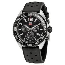 tag heuer formula 1 watches jomashop tag heuer formula 1 chronograph black dial men s watch