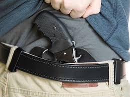 taurus judge poly 2 inch cloak tuck iwb holster inside the waistband