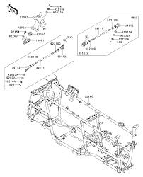 2012 kawasaki brute force 750 4x4i eps kvf750jcs chassis and wiring rh ytech me 2005 kawasaki brute force 750 wiring diagram 2008 kawasaki brute force 750