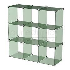 Glass Cube Display Set 3x3