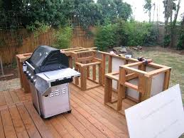 how to build an outdoor kitchen and island barbeque backyard homemade grill ideas diy