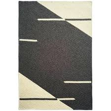 grey and cream rug natural woven wool custom crafted in reversible line no blue grey and cream rug area