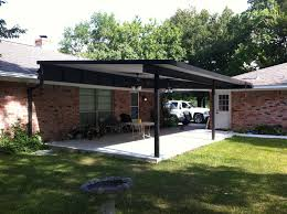 raised insulated patio cover baytown