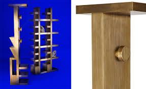 Tom Dixon Coat Rack Mass Coat Stand Brass hivemodern 40