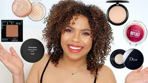 best powders for oily skin high end