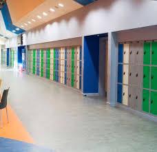 vinyl flooring commercial matte colored concrete look acousto 340 380