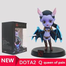 wholesale 1pcs queen of pain dota 2 figure heros cm fv pvc action
