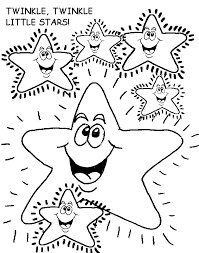 Small Picture Twinkle Twinkle Little Stars Free Coloring Pages for Kids