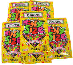 Chiclets tiny size - Lookup BeforeBuying