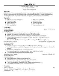 Inventory Control Job Description Resumes Resume Inventory Under Fontanacountryinn Com