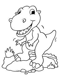 Kleurplaat Dinosaurus Kleurplatennl