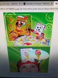 Encontra dime quien soy yo juego de mesa ditoys original nino juego juegos en mercado libre argentina. Juego Dime Que Soy Yo Ditoys Duendes Y Princesas