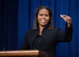 "celebrating hidden and modern figures from four eras of space  first lady michelle obama speaks after a screening of the film ""hidden figures"" at"