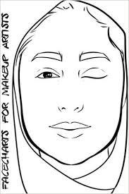 facecharts for makeup artists sa blake anderson 9781545061749 amazon books