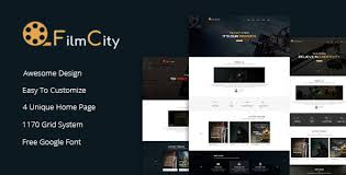 Film Template For Photos Film Studio Movie Film Marketing Html Template By Bootxperts