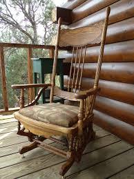 Restoration: 1878 Platform Glider Rocking Chair: 10 Steps (with ...