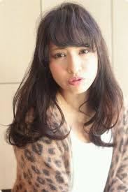 大人カジュアル 黒髪ロング 2012 冬 流行ヘアスタイル 097 ヘア