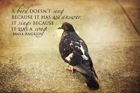 Birds Quotes A bird doesn't sing because it has an answer It sings because it 29