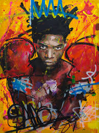 jean painting jean michel basquiat by richard day