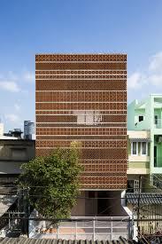 Passive Facade Design Sanuki Daisuke Architects Combine Patterns Of Terracotta