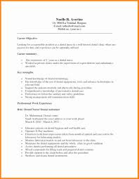 Dental Assistant Resume 100 dental assistant resume objectives mail clerked 53