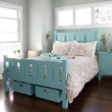 Maine Bedroom Furniture Shutter Bed By Maine Cottage Where Color Lives