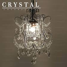 wrought iron crystal chandelier gallery and mini 4 light lighting country french white pendan