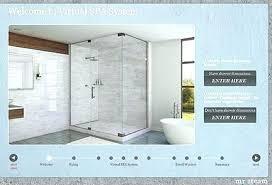 spa shower systems steam virtual system design bathroom luxury delta arctic s