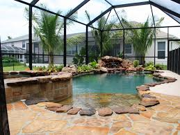 inground pools with waterfalls and hot tubs. Custom Rock Designed Pool Inground Pools With Waterfalls And Hot Tubs