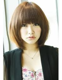 ストレートひし形ミディmo 259 ヘアカタログ髪型ヘアスタイル