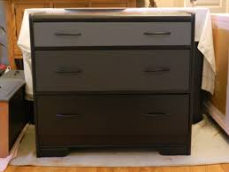 black painted furniture ideas. Black Painted Color Small Dresser Table After Makeover With 3 Drawer Ideas Furniture A