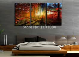 large 3 piece canvas wall art