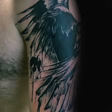 100 Vrh Tetování Vzory Pro Muže černý Pták Inkoustové Nápady