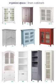 Third & Patterson: Linen cabinets for small spaces.