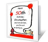Printable Card Oh Boy Its Your Birthday American Greetings