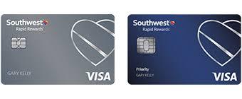 Southwest Rapid Rewards Points Chart Rapid Rewards Credit Cards Southwest Airlines