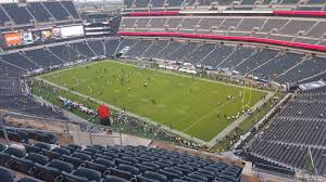 seat view for lincoln financial field section 207