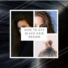 Salerm Semi Permanent Hair Color Chart How To Dye Black Hair Brown Bellatory