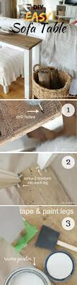 40 Easy DIY Tables That You Can Build on a Budget
