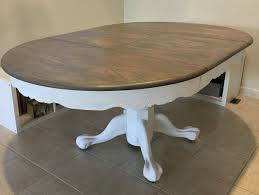 reclaiming my farmhouse table for the