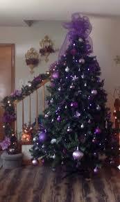 Christmas Tree Decorated In Purple best 25 purple christmas tree ideas on  pinterest purple house interiors