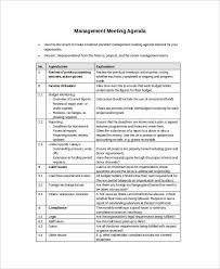 How To Write An Agenda Of A Meeting Free 57 Meeting Agenda Examples Samples In Doc Pdf