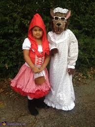 little red riding hood and big bad wolf costume