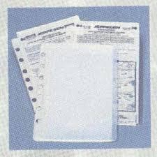 Jeppesen Chart Protectors Jeppesen Chart Pockets 5 Pk 1 50
