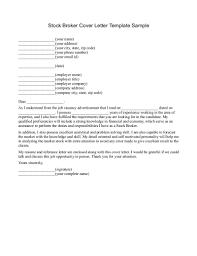 Broker Cover Letters Elnours Com