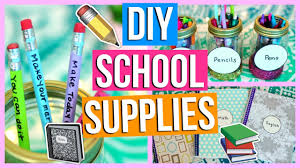 diy school supplies back to school 2017 2018