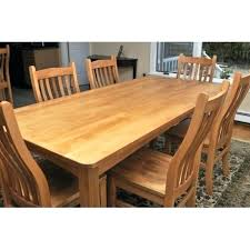maple dining room chairs harvest dining table and chair set unfinished maple dining room chairs