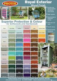 Par Paint Colour Chart 50 Correct Protec Paint Colour Chart